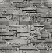 3 boyutlu FOREVER taş desenli duvar kağıdı 15272