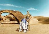 8-484 Komar Star Wars Lost Droids Çocuk Odası Duvar Kağıdı
