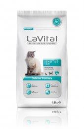 Lavital Sensitive Somonlu Hassas Açık Kedi Maması 2 Kg Skt 11 201
