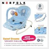 Norfolk Sweet Dreams Oyuncaklı Ev Tipi Ana Kucağı Ana Dizi - TÜM RENKLER-2
