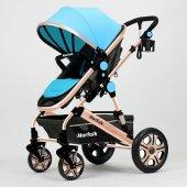 Norfolk Baby Voyage Comfort Air Luxury &Ccedilift Y&oumlnl&uuml Bebek Arabası-2