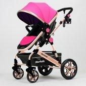 Norfolk Baby Voyage Comfort Air Luxury &Ccedilift Y&oumlnl&uuml Bebek Arabası-5