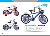 Acr Ciciko Atak Sepetli 20 Jant Çocuk Bisikleti Amerikan Ayna Kol Bilyalı
