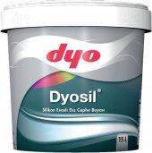Dyo Dyosil Silikonlu Dış Cephe Boyası 2.5 Lt