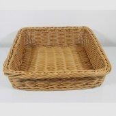 Açık Büfe Eğimli Ekmek Sepeti 42x42x9,5 14,5 Cm