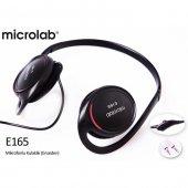 Microlab E165 Siyah Mikrofonlu Kulaklık