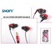 Snopy SN-12A Siyah/Kırmızı Kulaklık