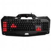 Everest Rampage DLK-5110 Siyah USB Makrolu Gaming Q Multimedia Klavye