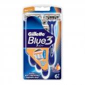 Gillette Blue 3 Tıraş Bıçağı 6 Lı
