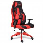 xDrive 1453 Profesyonel Oyuncu Koltuğu Kırmızı/Siyah-2
