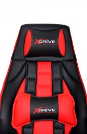 xDrive 1453 Profesyonel Oyuncu Koltuğu Kırmızı/Siyah-6