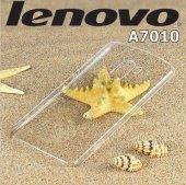 Lenovo A7010 Şeffaf Esnek Silikon Kılıf
