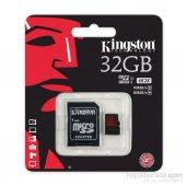 Kingston 32gb Micro Sd Hafıza Kartı C10 U3 4k...