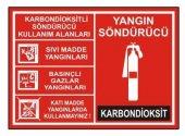 Yangın Söndürücü Levha Karbondioksit Söndürücü...