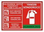 Yangın Söndürücü Levha Halokarbon (Hcfc)...