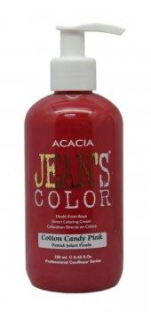 Jeans Color - Su Bazlı Amonyaksız BOYA 250 ML PAMUK ŞEKER PEMBE