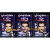 Schwarzkopf Men Perfect Erkek Saç Boyası 80 Kahve Siyah 3 Adet