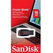 Sandisk 16gb Cruzer Blade Sdcz50 016g B35 Usb Bellek