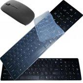 Kablosuz Klavye Mouse Seti Q Multimedia Klavye 2.4Ghz TV Uyumlu-3