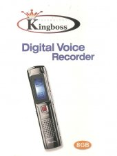 Kingboss 8GB Dijital Ses Kayıt Cihazı