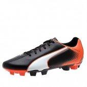Puma Adreno 103418-09 Erkek Krampon Siyah Turuncu Spor Ayakkabı-2