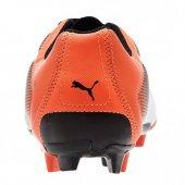 Puma Adreno 103418-09 Erkek Krampon Siyah Turuncu Spor Ayakkabı-4