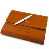 İsme Kişiye Özel Çantalı Premium Defter Kalem Seti-2