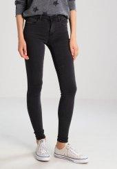 Only Bayan Koy Pantolon 15139192onlraın Jeans Skinny Fit Dark