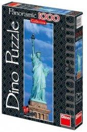 Dino 1000 Parça Özgürlük Anıtı Panorama Puzzle-2