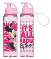 Disney Minnie Mouse Pembe Matara (750 ml - Kırılmaz)
