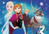 Ravensburger 2x24 Parça Frozen Kuzey Işıkları Çocuk Puzzle-2