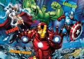 Clementoni 20606 3D Vision 104 Parça Avengers (Yenilmezler) Puzzle