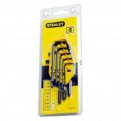 Stanley St069252 Allen Anahtar Takımı, 8 Parça