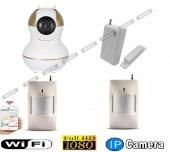 Babycam IP Kamera Bebek Kamerası Seti 2xPır-Manyetik Kontak