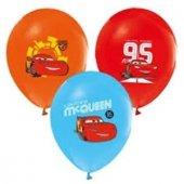 Cars, Arabalar, Şimşek Mcqueen 24 Kişilik 17 Parça Doğum Günü Set-2