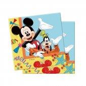 Mickey Mouse 16 Kişilik 13 Parça Doğum Günü Set Midi-3