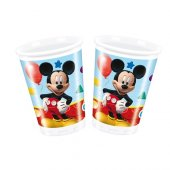 Mickey Mouse 16 Kişilik 13 Parça Doğum Günü Set Midi-4