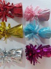 1 Adet Uçan balon ağırlığı, parlak süslü Renk:-4