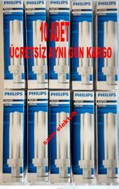 10 ADET PHILIPS MASTER PLC 18W /840 4P