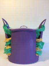 Torbox Çok Amaçlı Çöp Kovası Mor