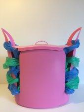 Torbox Çok Amaçlı Çöp Kovası Pembe