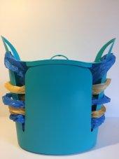 Torbox Çok Amaçlı Çöp Kovası - Mavi-5