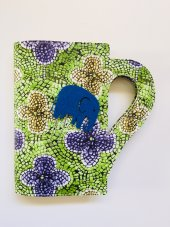 Okurgezer Kitap Kılıfı Mozaik Çiçek