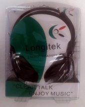Longitek Mikrofonlu Kulaklık İnternet Cafelere...
