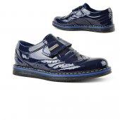 Volter Cırtlı Rugan Erkek Çocuk Klasik Spor Ayakkabı-2