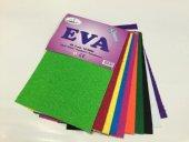 Linea Eva Süngeri Simli Yapışkanlı 10 Renk