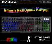 Frisby Gamemax Fk G530qu Kablolu Usb Rgb Işıklı...