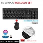 Frisby Fk W98qu Tek Nano Alıcılı Multimedia...