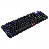Frisby GAMEMAX GAMER-2 Multimedia Üçlü Işıklı Gaming Oyuncu Seti Işıklı Klavye Mouse Kulaklık Gaming Set Kampanyalı Fiyat-6
