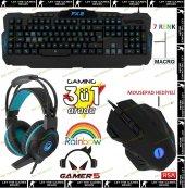 Frisby Gamemax Gamer 5 Multimedia Üçlü Işıklı Gami...